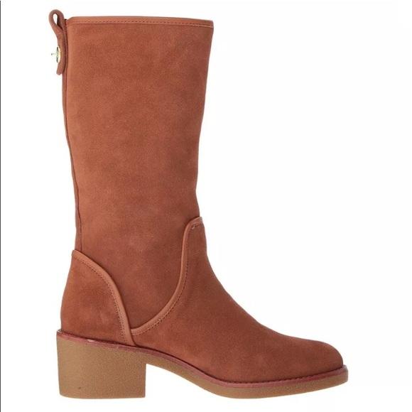 491f452786ccf New Coach Palmer Closed Toe Mid-Calf Fashion Boots
